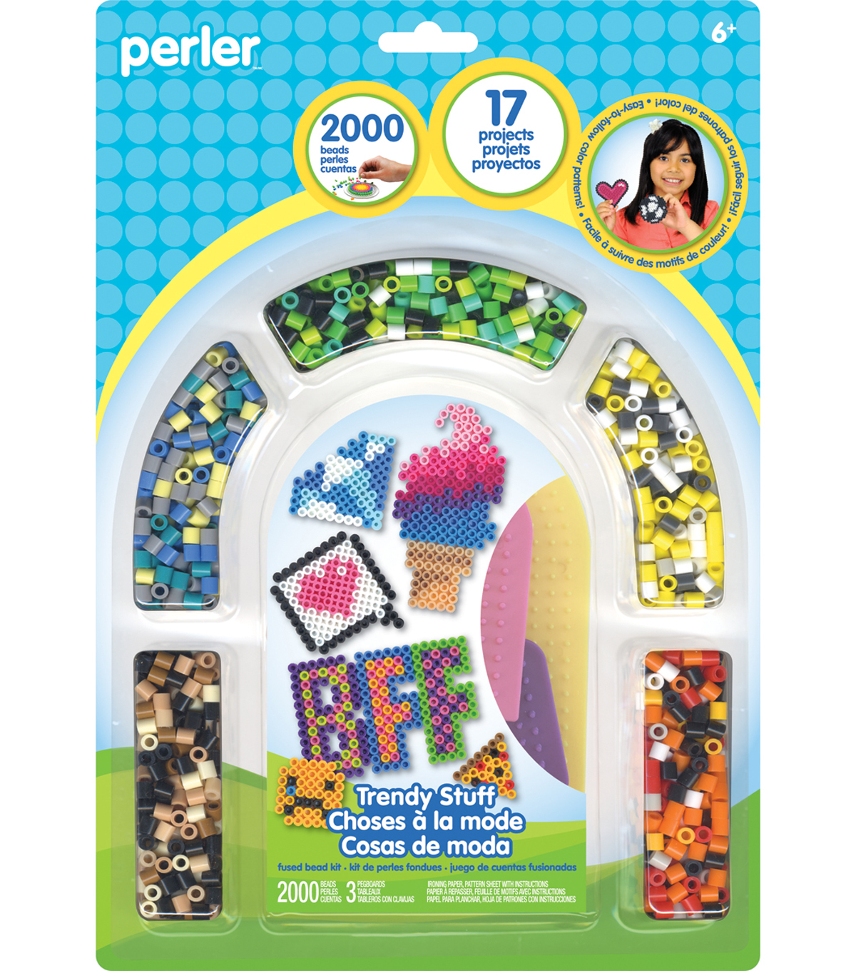Perler Fused Bead Kit-Trendy Stuff