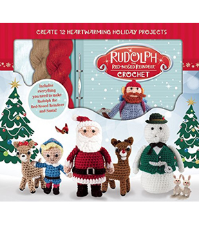 Rudolph The Red Nosed Reindeer Crochet Kit