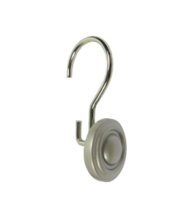 Bath Hardware Concord Silver Nickel Shower Hook