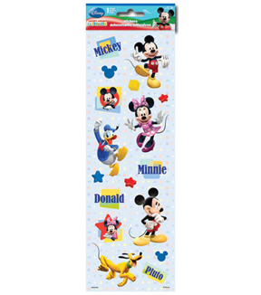 Mickey and Friends Sparkle Stickers