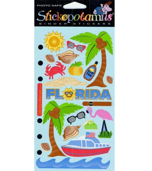 EK Success Stickopotamus Stickers-Florida