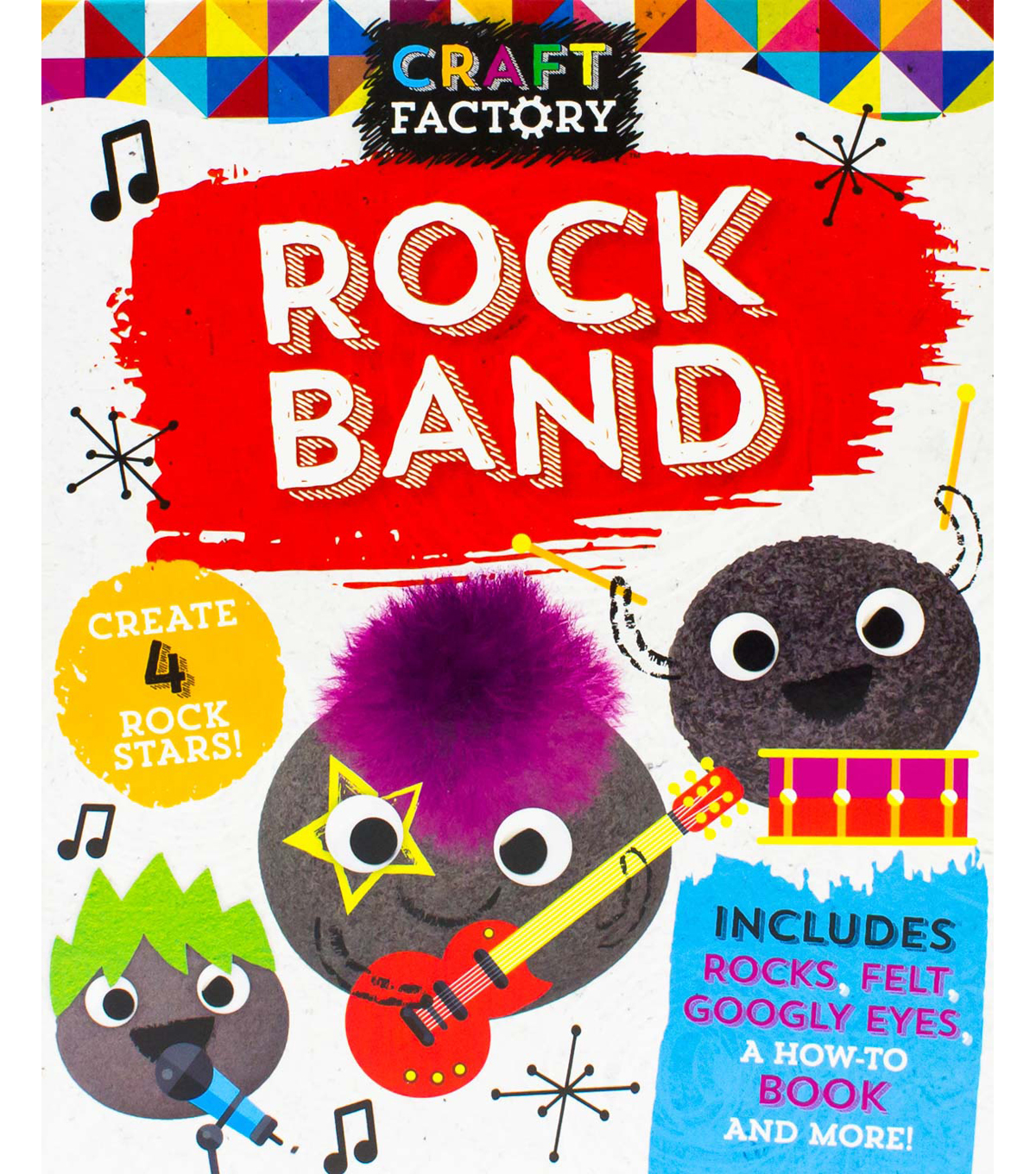 Craft Factory Rock Band Activity Book