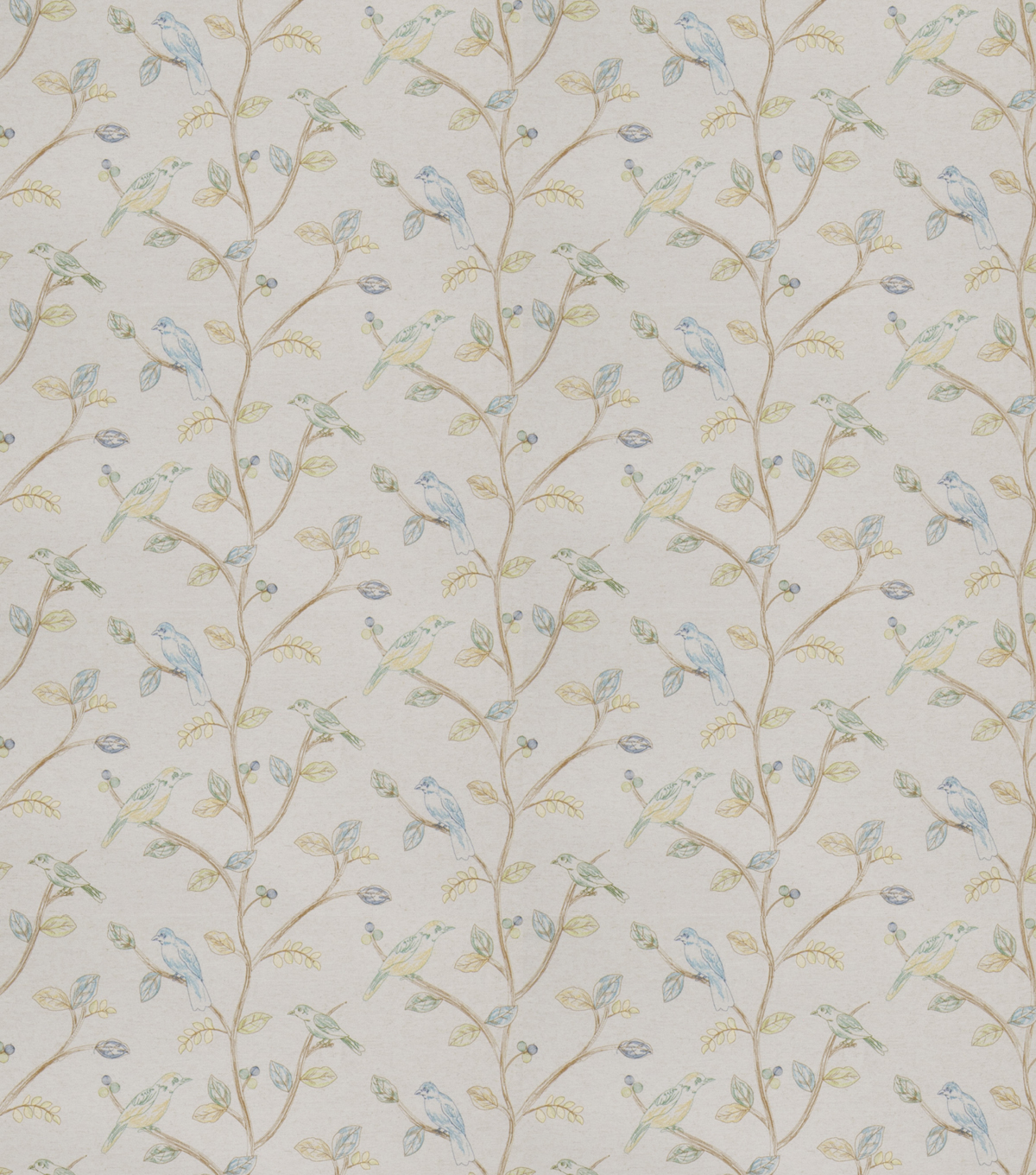 Eaton Square Print Fabric 53\u0022-Riverhill/Fern