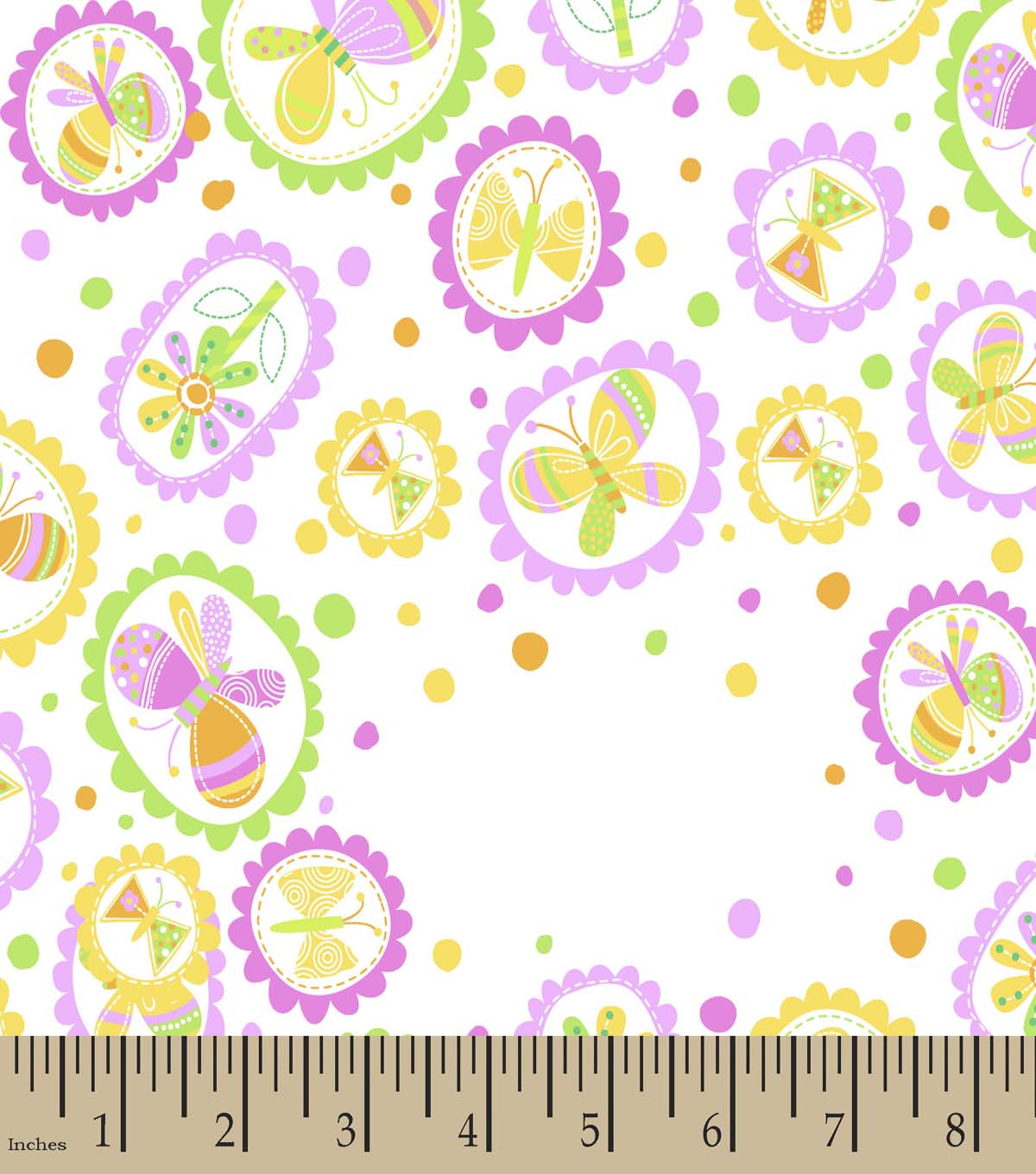 Butterflies Print Fabric