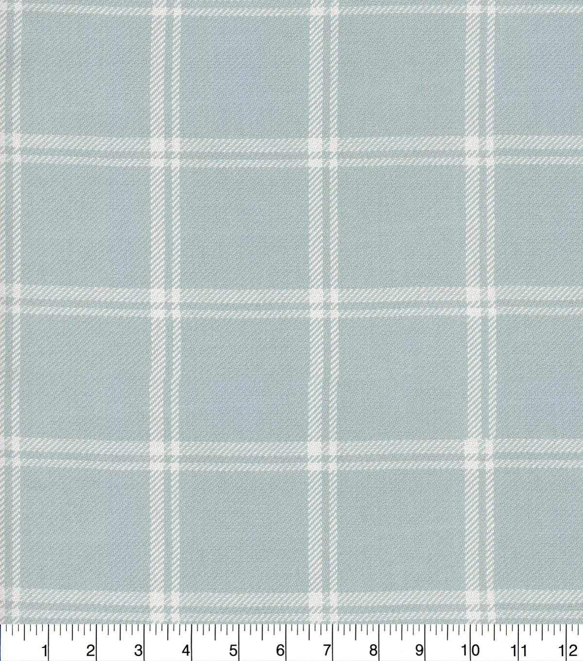 Waverly Upholstery Fabric 54''-Opal Bloomsbury Plaid
