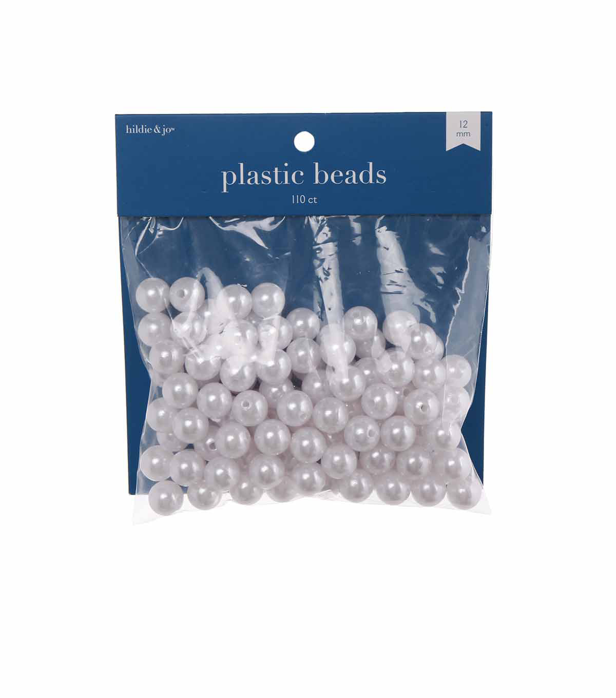 Darice Big Value! 12mm Pearl-110.PK/White