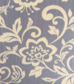 "Anti-Pill Fleece Fabric 59""-Roosters Damask"