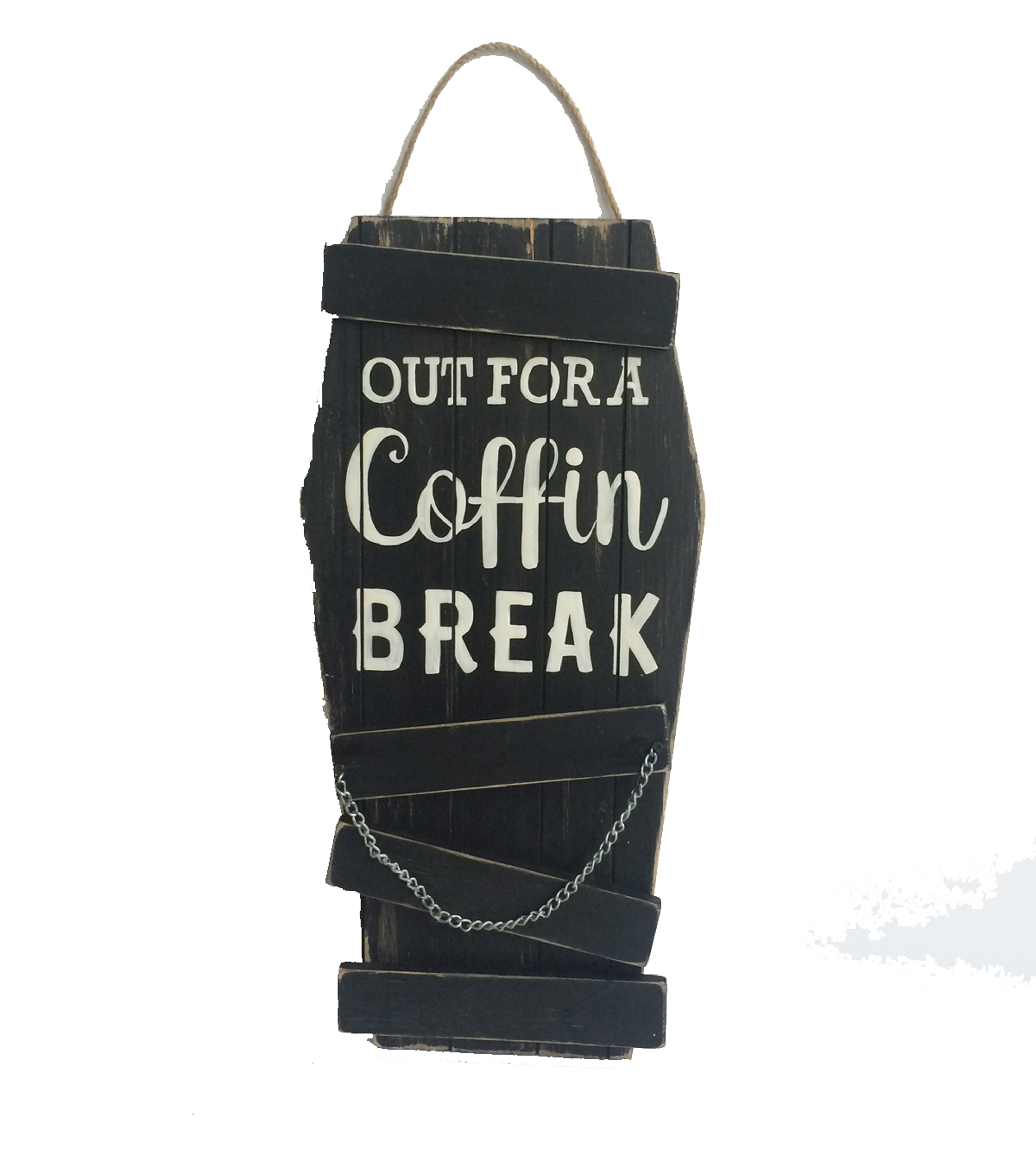 Maker\u0027s Halloween Wood Wall Decor-Out for A Coffin Break