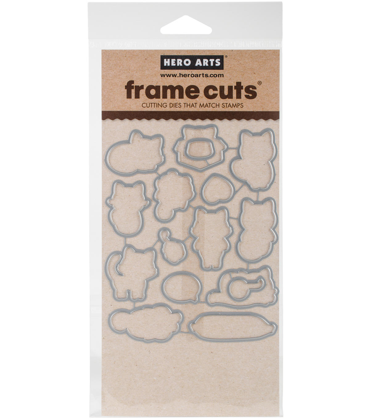 Hero Arts Frame Cut Dies-Purr