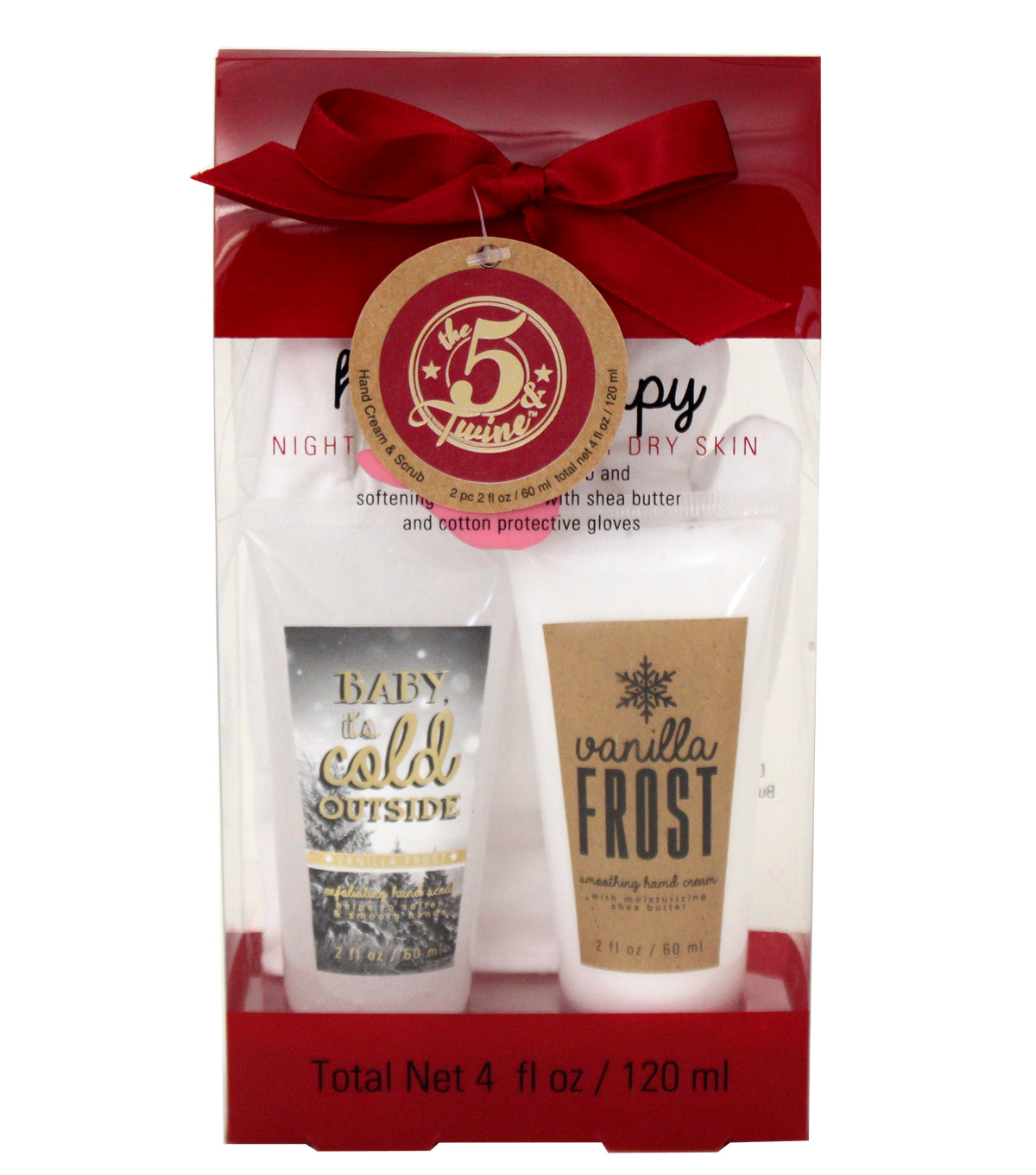 The 5 & Twine™ Hand Theapy Set Craft Winter Wishes