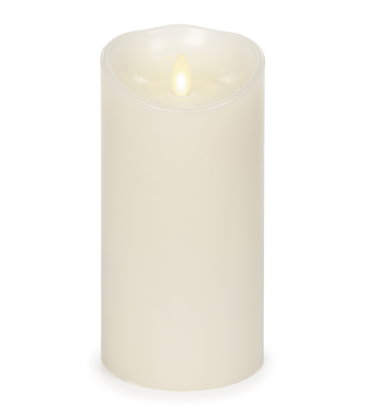Luminara® Candle & Light Collection Luminara 7 In Ivory Timer Vanilla Scent