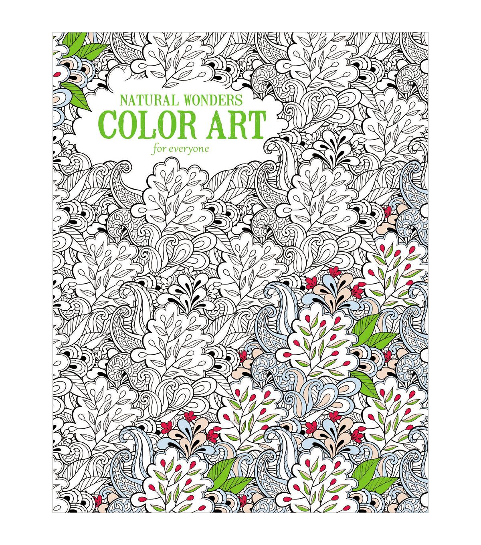 Color art floral wonders - Adult Coloring Book Leisure Artsnatural Wonders