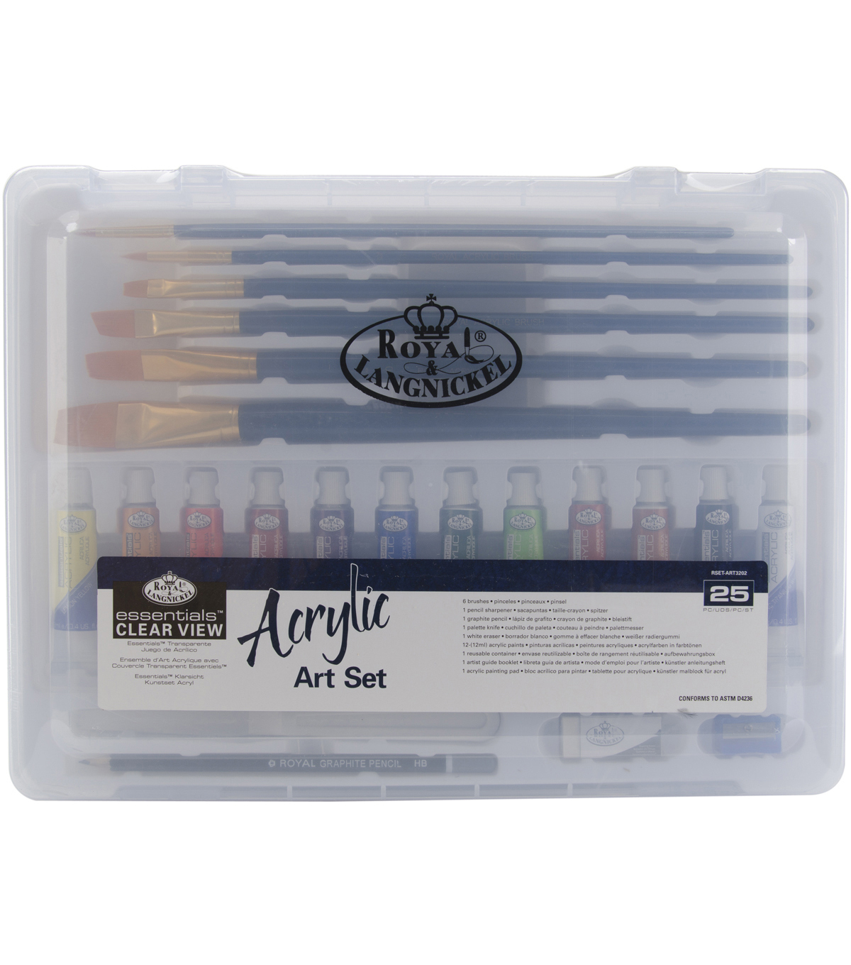 Clearview Medium Acrylic Painting Art Set-