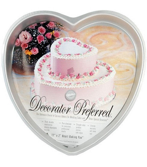 Wilton® Decorator Preferred 12\u0022 Heart Pan