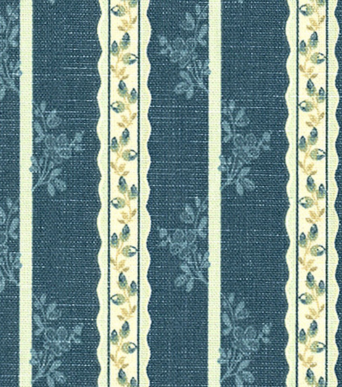 Waverly Print Fabric 57\u0022-Tea Lane Chambray