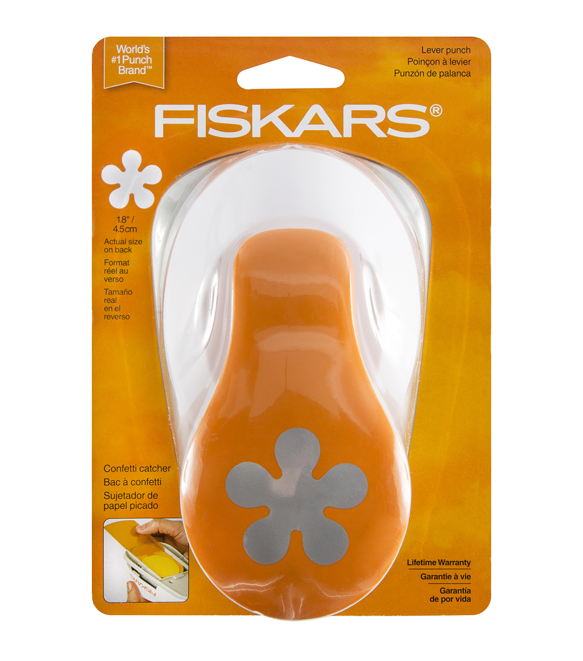 "Fiskars X-Large Lever Punch-2"" Poppy"