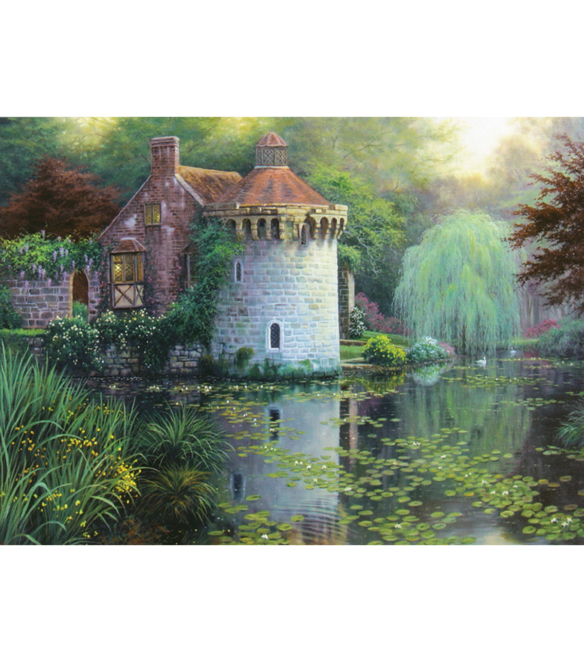 Candamar Scotney Castle Garden Counted Cross Stitch Kit