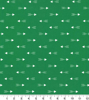 Quilters Showcase Cotton Fabric-Arrow Green