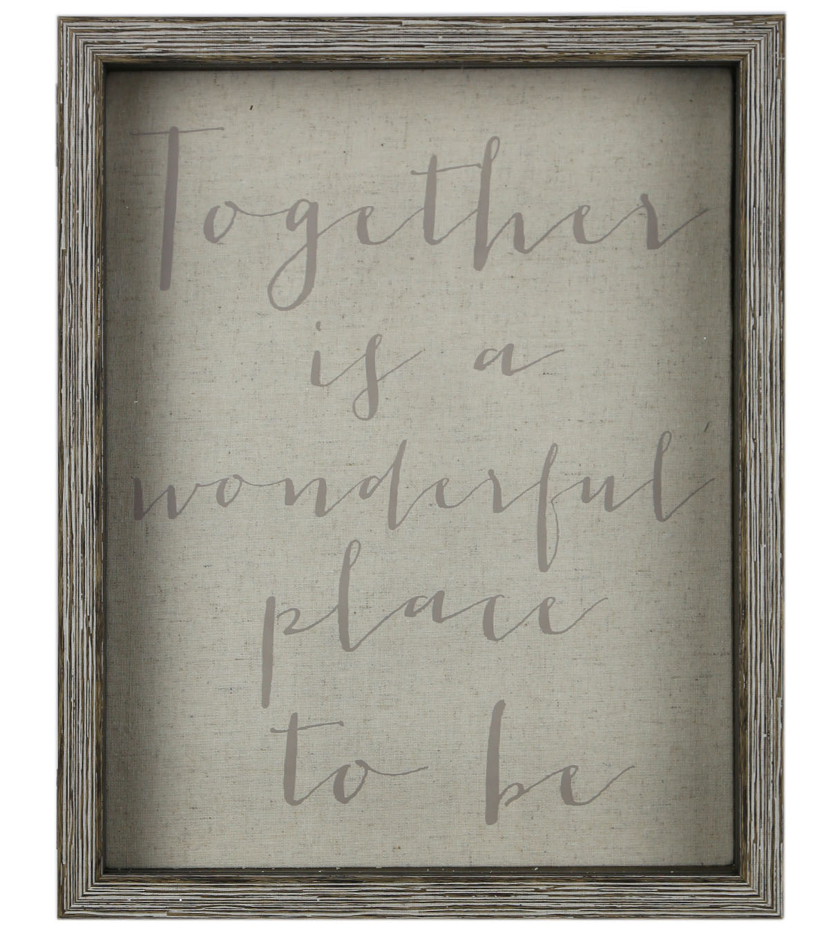 Shadowbox 11\u0027\u0027x14\u0027\u0027-Together Is A Wonderful Place To Be