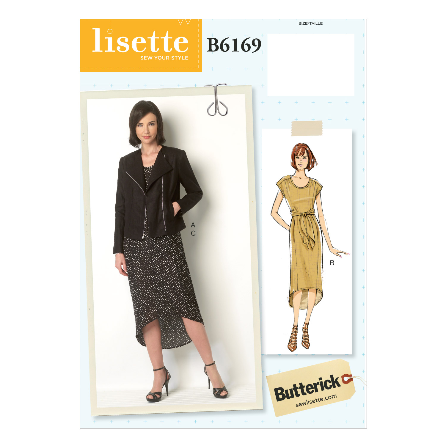Butterick Misses Dress-B6169