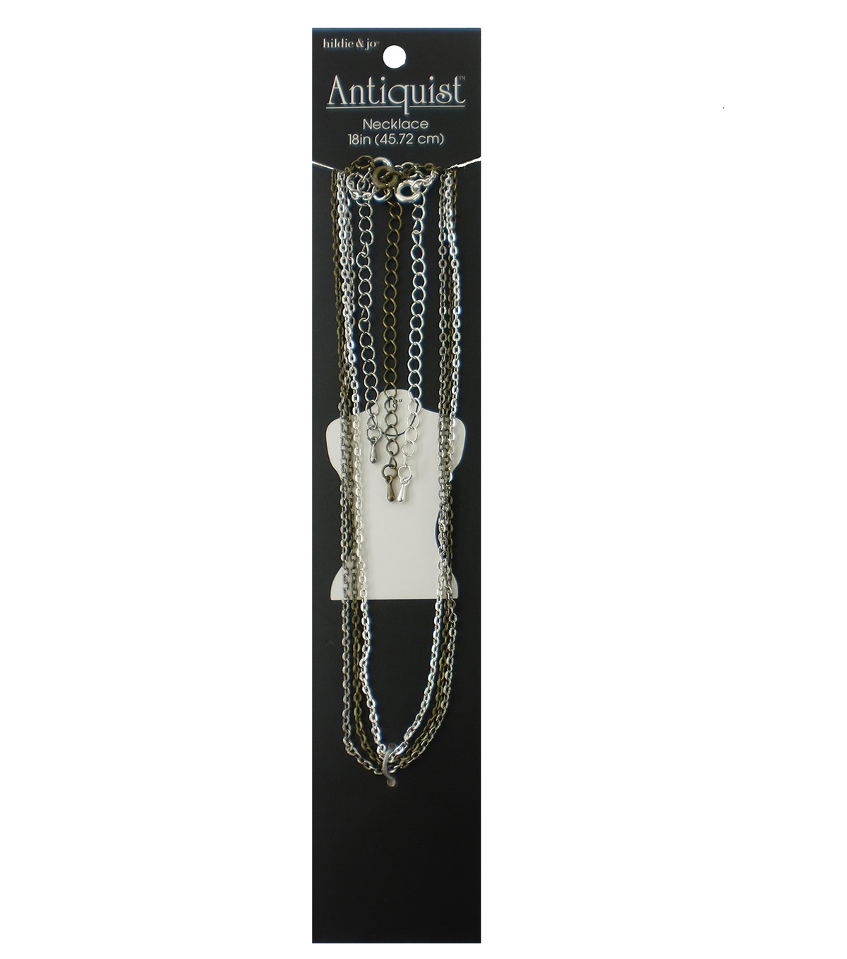 hildie & jo™ Antiquist 3 Pack 18'' Necklaces-Multi