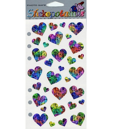 Sticko Stickers-Pastel Hearts