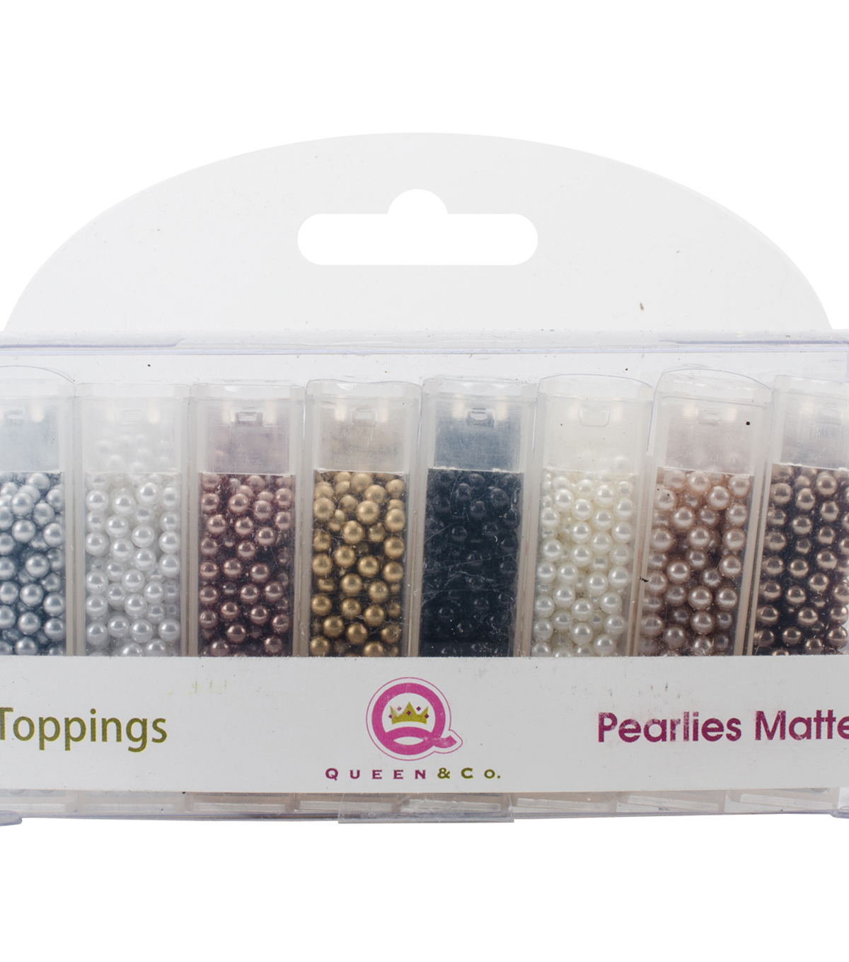Queen & Co Topping Set-Pearlies Matte