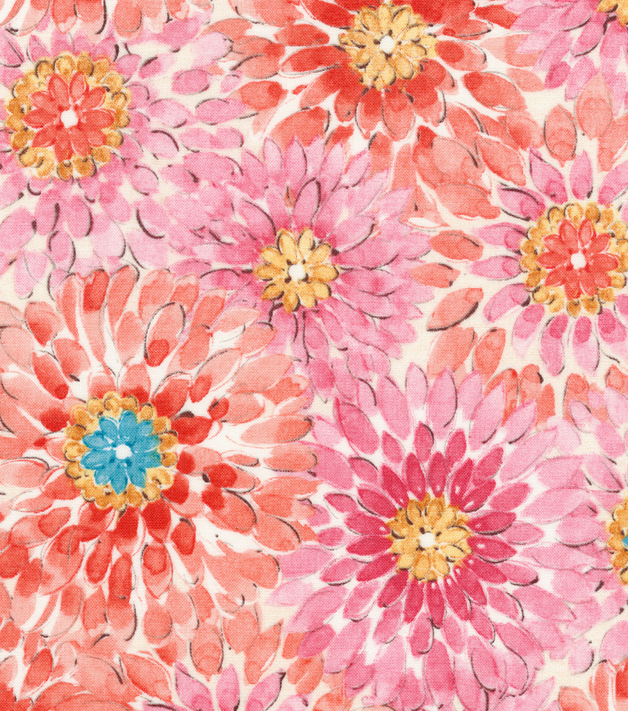 Premium Quilt Cotton Fabric 44\u0022-Packed Floral