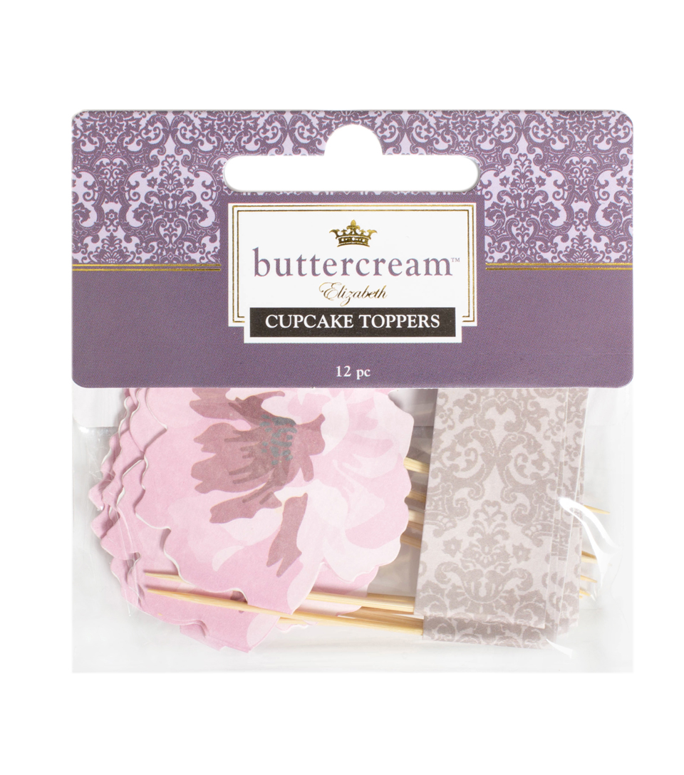Buttercream™ Elizabeth Collection Decorative Food Toppers