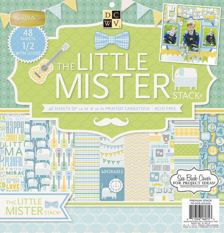 "DCWV 12""X12"" Little Mister Stack"