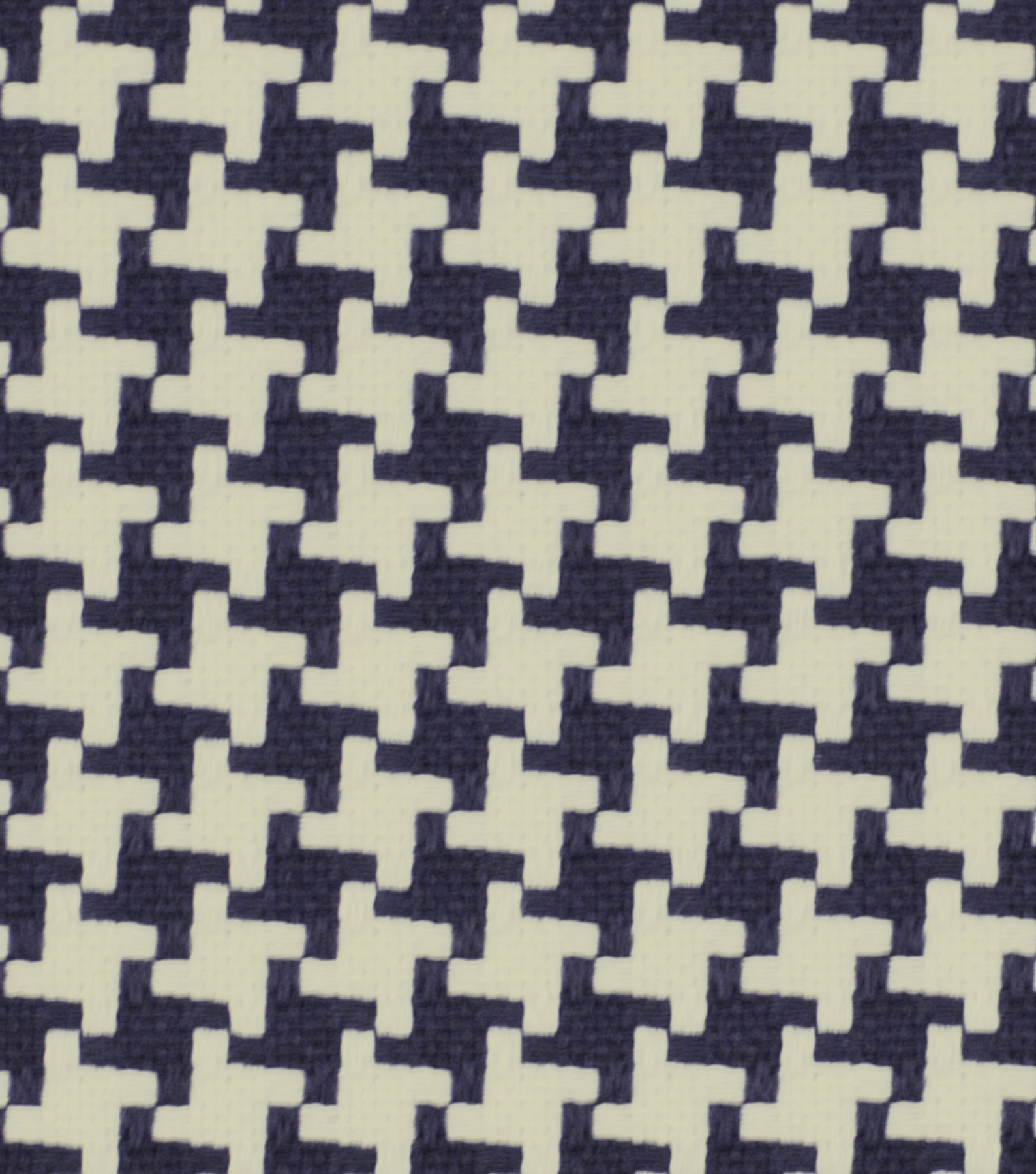 Robert Allen @ Home Upholstery Fabric 55\u0022-Square Pegs Navy