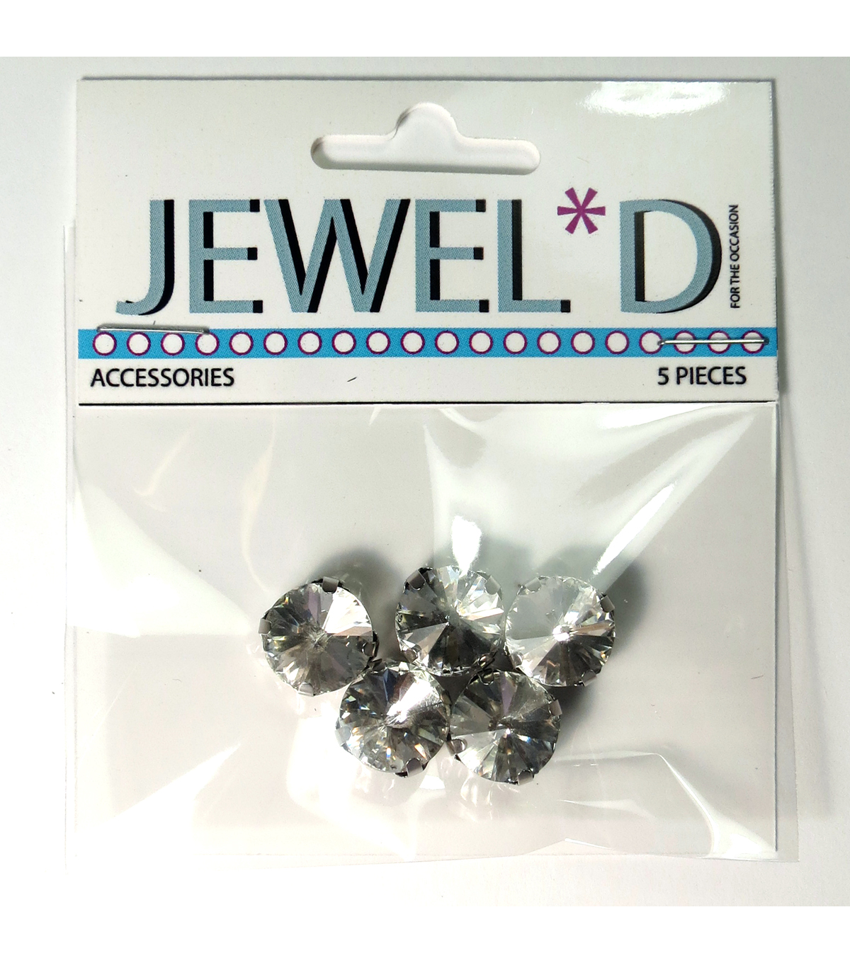 12mm Round Sew On Crystal  Crystal