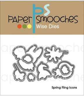 Paper Smooches Spring Fling Icons Dies