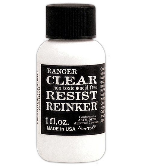 Ranger Resist Ink Reinker-1oz/Clear