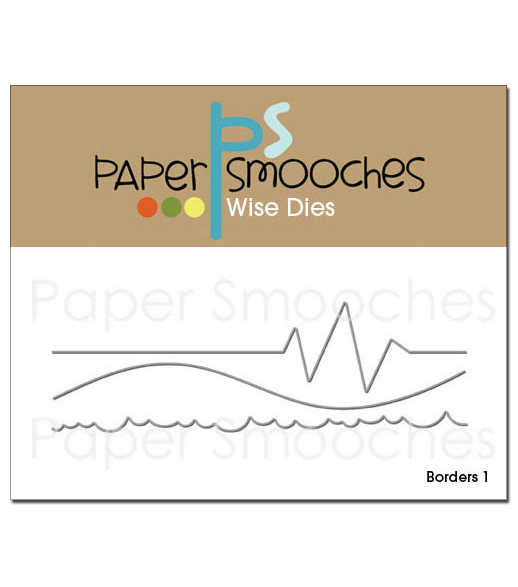 Paper Smooches Die-Borders 1