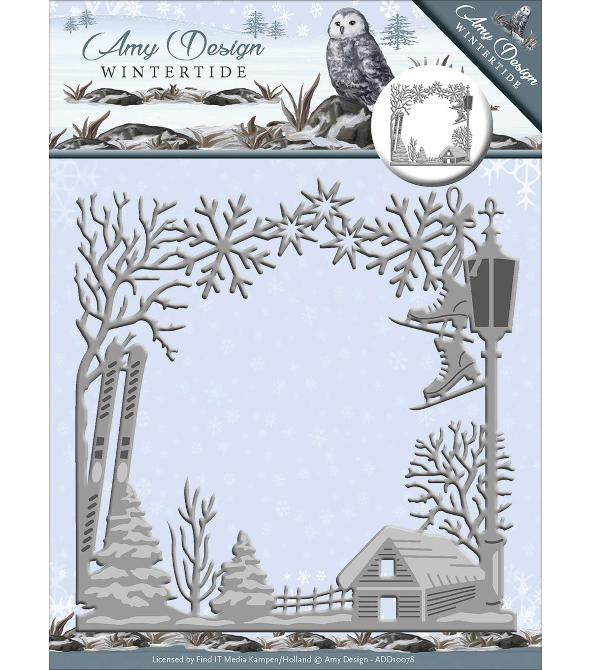 Find It Trading Amy Design Wintertide Die-Frame