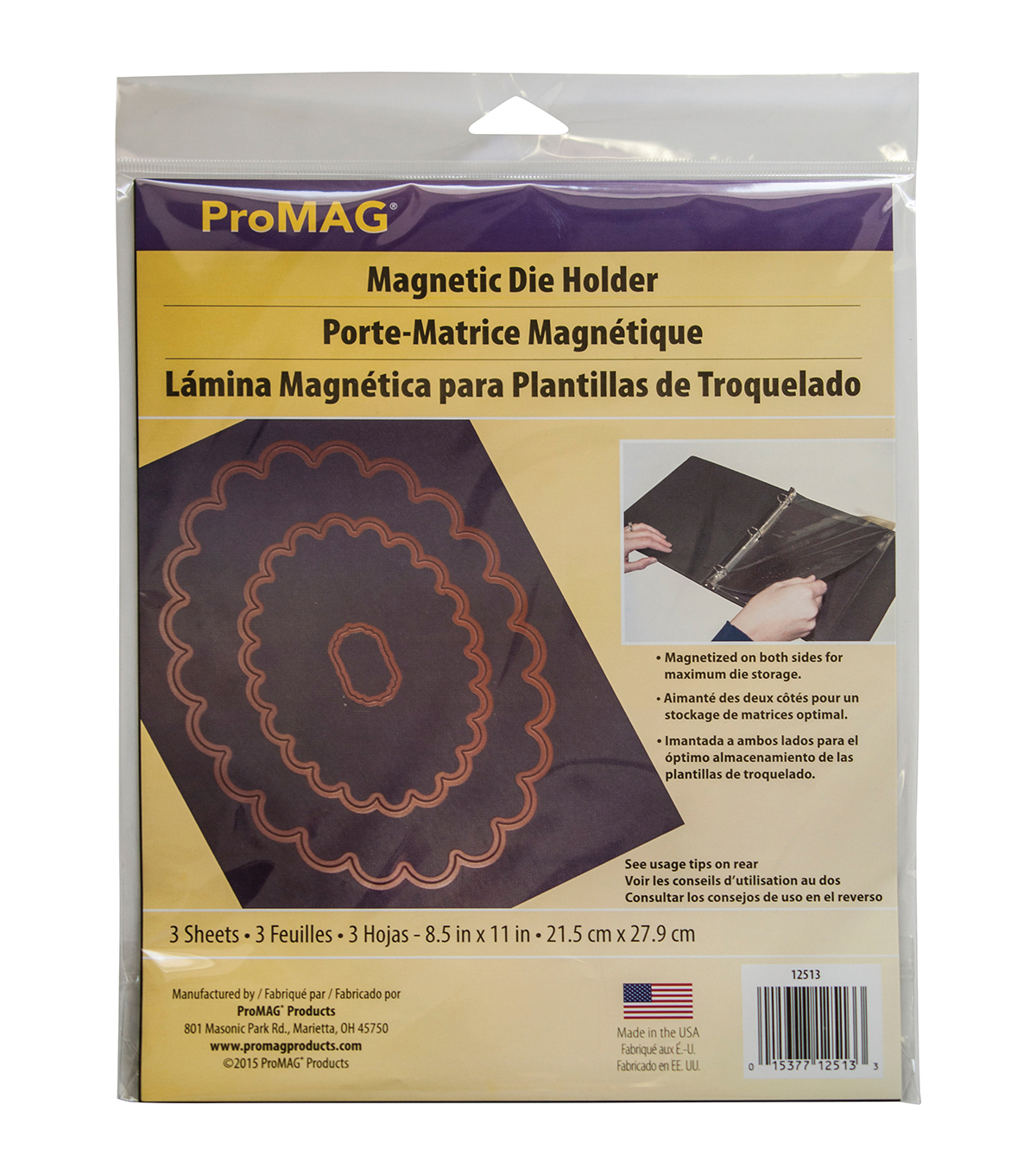 ProMag 3pcs Double Magnetized Die Holder Magnets