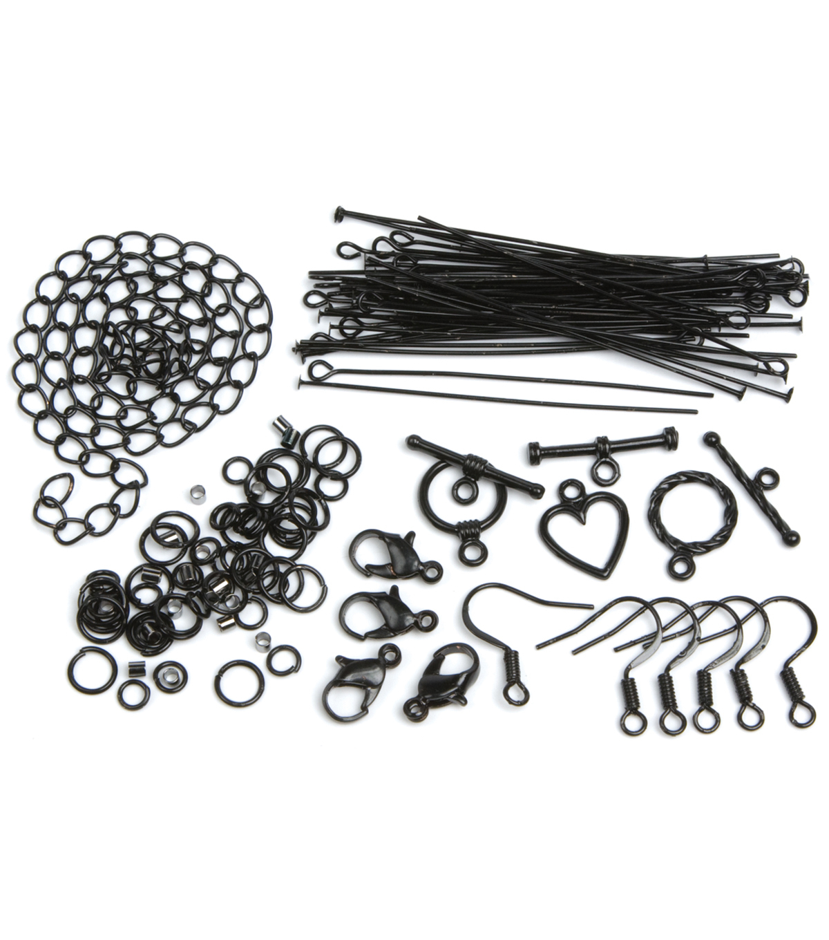 Jewelry Basics Starter Pack 145/Pk-Black