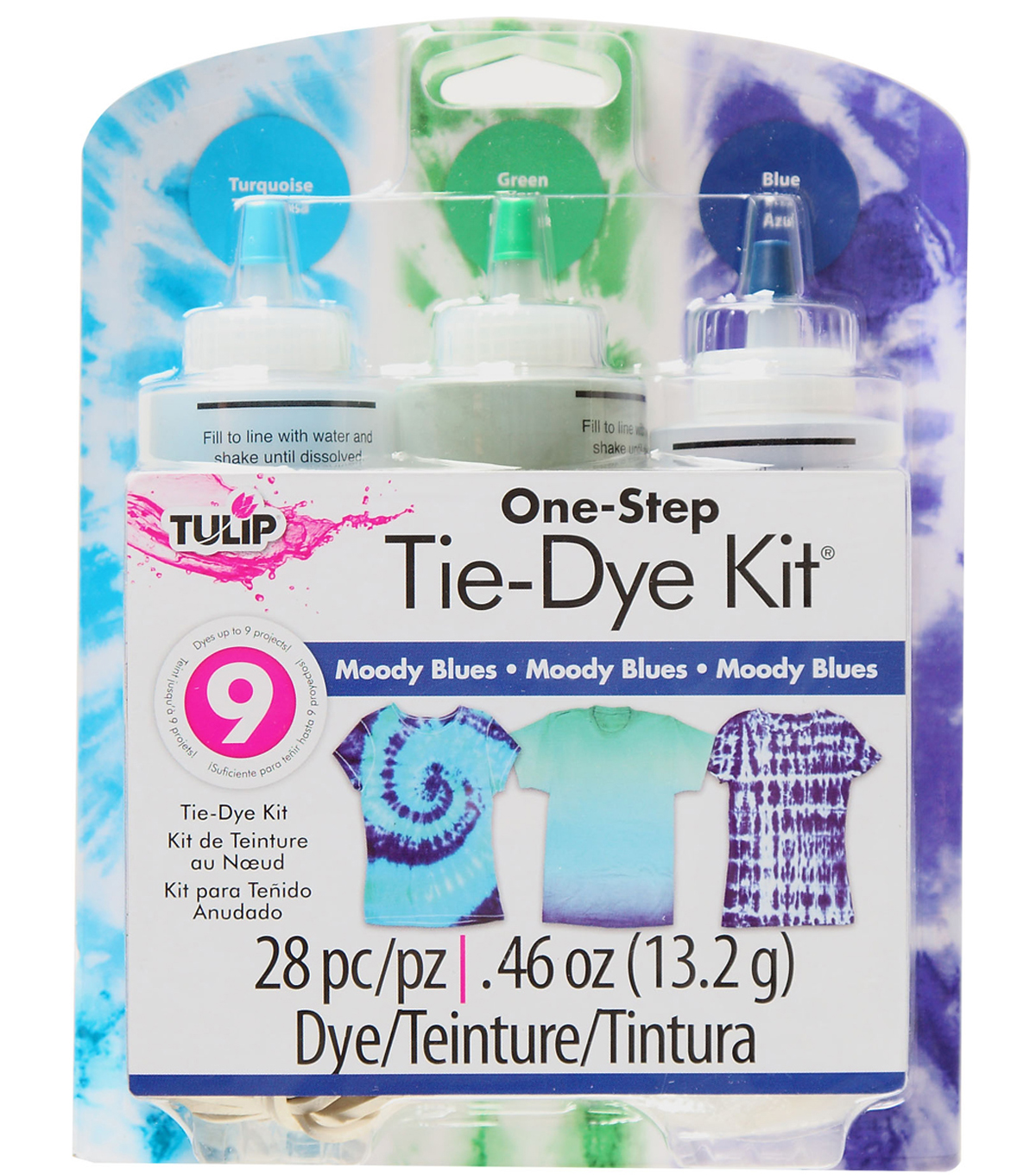 Tulip® One-Step Tie-Dye Kit