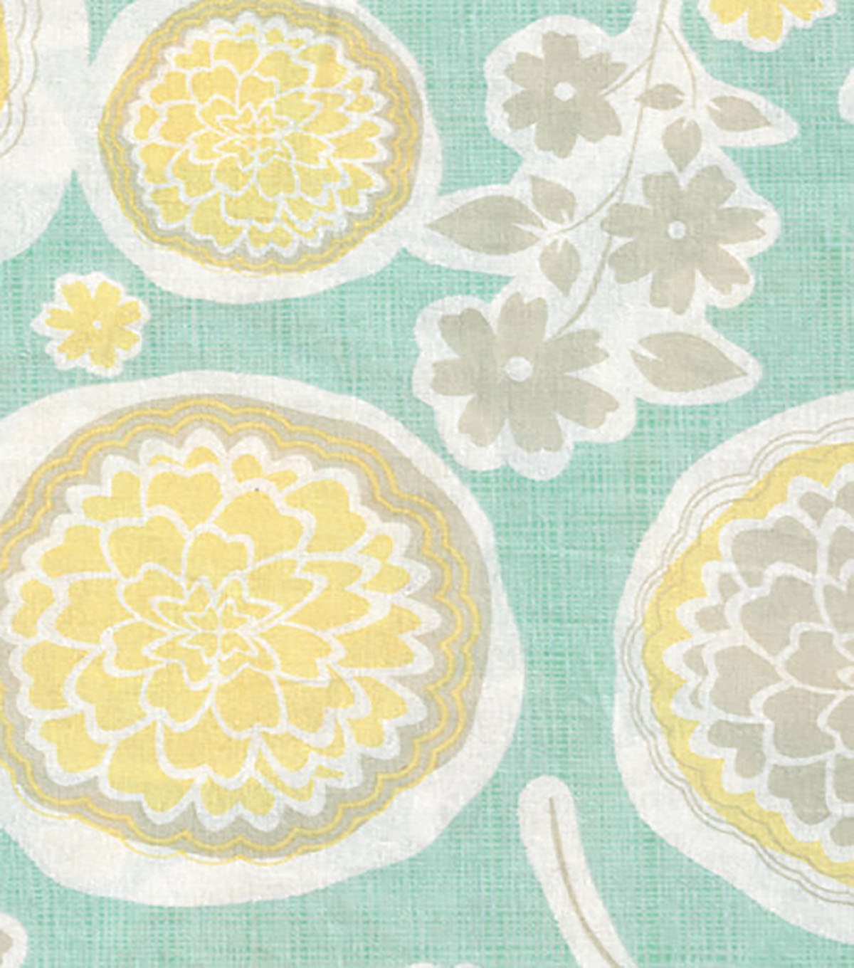 Keepsake Calico™ Cotton Fabric 43\u0022-Cut Out Floral On Crosshatch