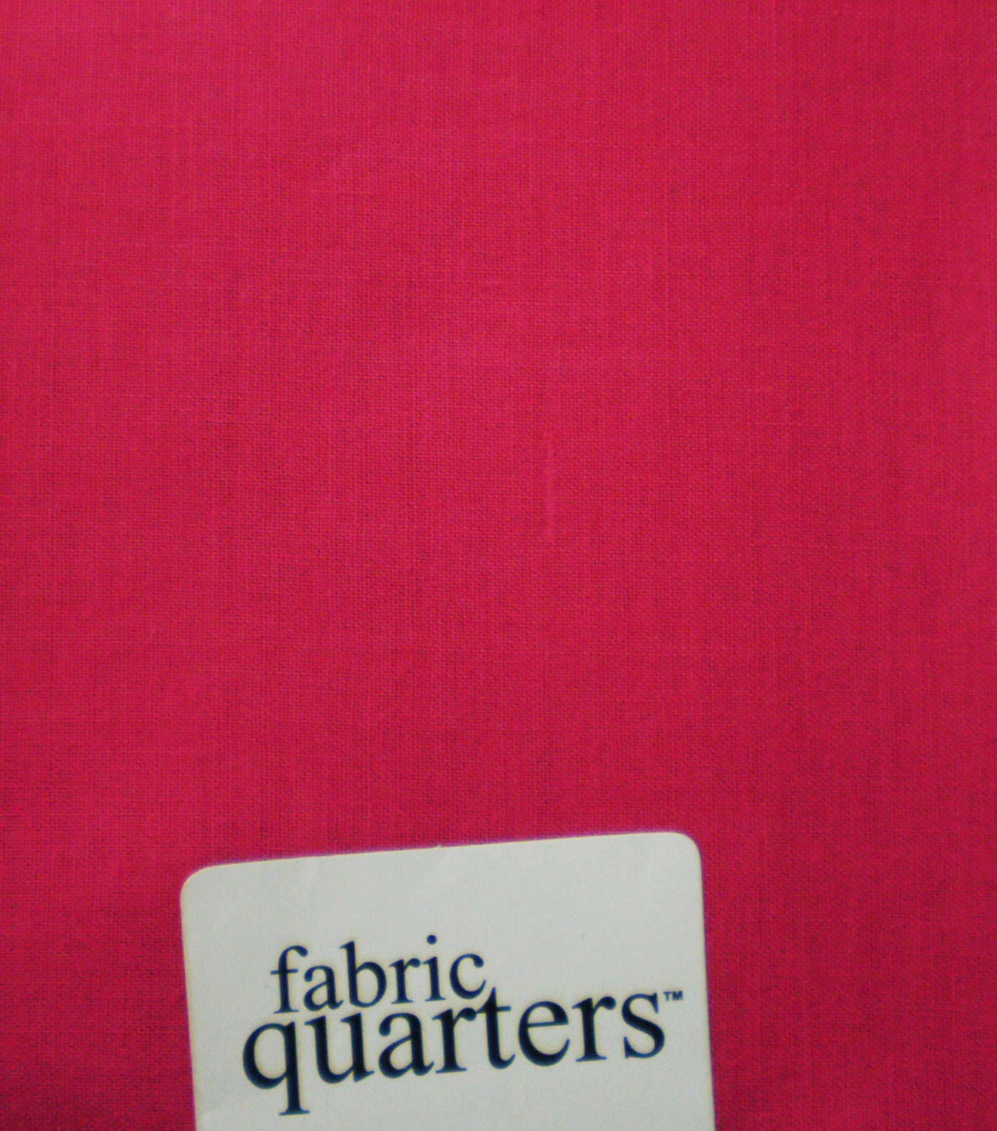 Fabric-Quarters Cotton Fabric-Solids Dark Pink
