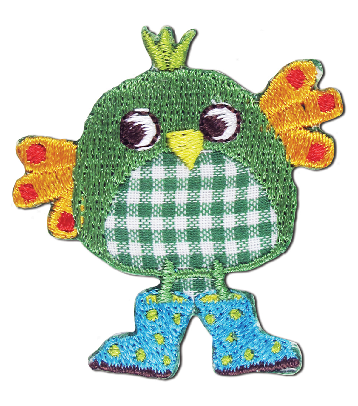 Green Bird Applique