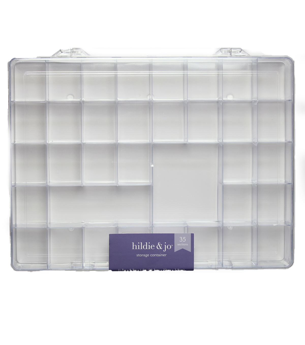 Darice Plastic Storage Box With 35 Compartment