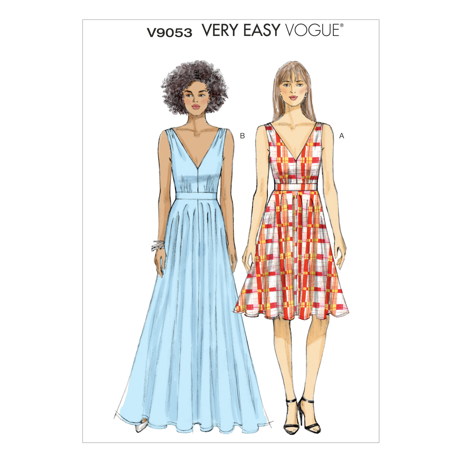 Vogue Patterns Misses Special Occasion-V9053