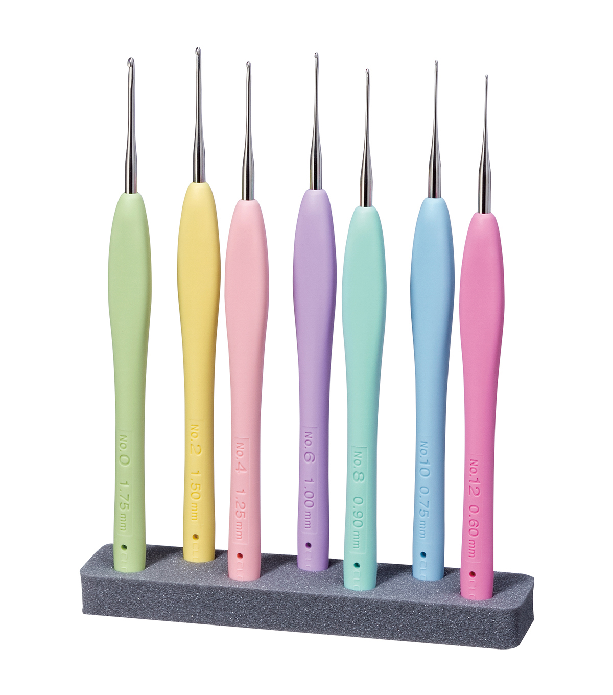 Amour Steel Crochet Hook Set-Sizes 0 To 12