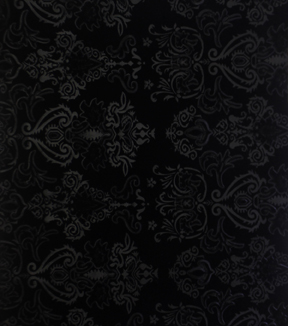 All That Glitters Collection - Embossed Stretch Velvet Black