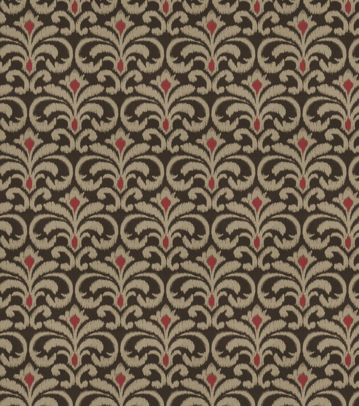 Eaton Square Upholstery Fabric 54\u0022-Tracer/Chocolate Cherry