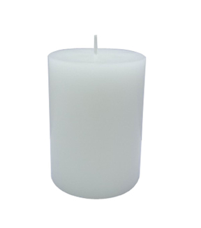 Maker's Holiday 3''x4'' Pillar Candle-White