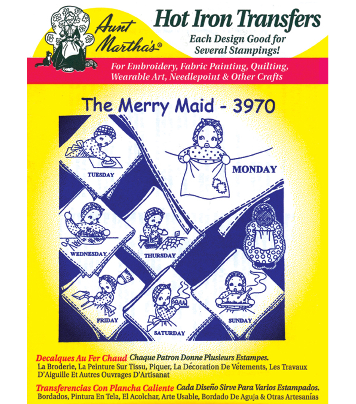 Aunt Martha\u0027s® Iron-On Transfers-Juvenile/Holiday/Religious-24 Pack