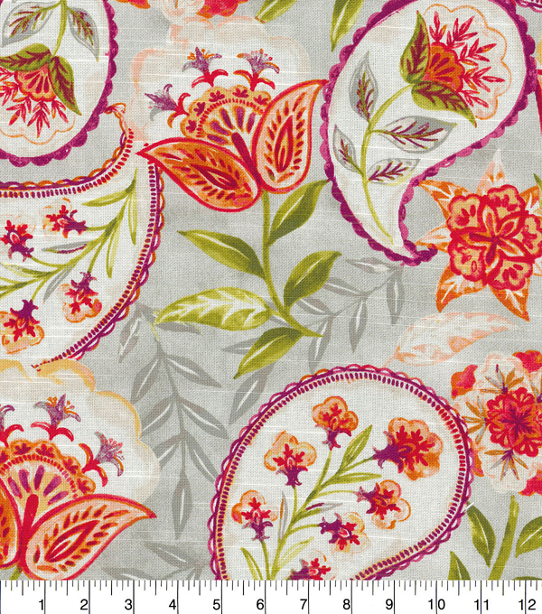Kelly Ripa Home Upholstery Fabric 54\u0027\u0027-Nectar Happy Hour